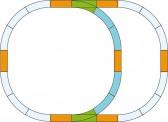 Piko 35302 G Gleis-Set Überholgleis