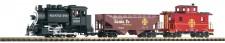 Piko 37104 Santa Fe Startset Güterzug