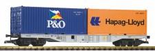 Piko 37751 DBAG Containertragwagen 4-achs Ep.6