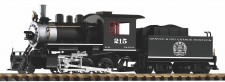 Piko 38209 D&RGW  Dampflok Mini-Mogul 2-6-0 #215