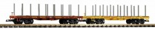 Piko 38774 UP Rungenwagen-Set 2-tlg