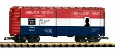 Piko 38885 CB&Q gedeckter Güterwagen 4-achs