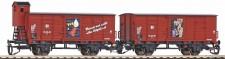 Piko 47032 DR FIT gedeckte Güterwagen-Set Ep.3
