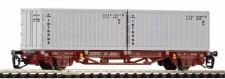 Piko 47724 CSD Containerwagen 2-achs Ep.4