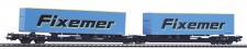 Piko 54772 TX Logistik Taschenwagen 6-achs Ep.6