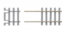 Piko 55151 Gleisschwellen 31mm für Betonflexgleis