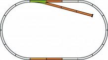 Piko 55311 PIKO A-Gleis mit Bettung Set: B