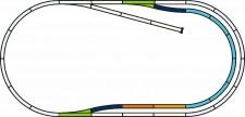 Piko 55321 PIKO A-Gleis mit Bettung Set: C