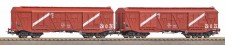 Piko 58233 PKP gedeckter Güterwagen-Set 2-tlg Ep.4
