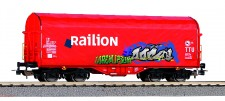 Piko 58981 Railion NS Schiebeplanenwg Graffiti Ep.6