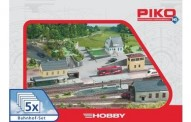 Piko 61923 Gebäude Set Bahnhof 5-teilig