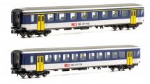 Piko 94390 SBB Personenwagen-Set 2-tlg Ep.4