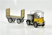 SwissLine 85.008701 PTT Elektro-Schlepper mit Anhänger TR-50