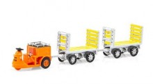 SwissLine 85.008703 Schlepper 3-Rad mit 2 Trolleys SBB