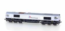 Heljan HE10066321 RheinCargo Diesellok Class 66 Ep.6