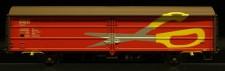 McK 0214 DSB Schiebewandwagen 2-achs Ep.4/5
