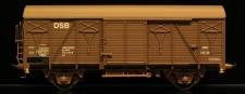 McK 0410 DSB gedeckter Güterwagen 2-achs Ep.4
