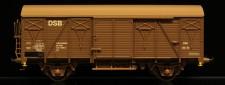 McK 0411 DSB gedeckter Güterwagen 2-achs Ep.4