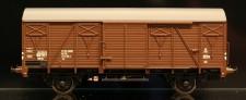 McK 0501 DSB gedeckter Güterwagen 2-achs Ep.4