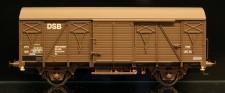 McK 0503 DSB gedeckter Güterwagen 2-achs Ep.4