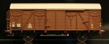 McK 0601 DSB gedeckter Güterwagen 2-achs Ep.3