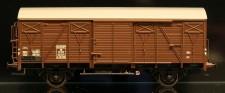 McK 0602 DSB gedeckter Güterwagen 2-achs Ep.3