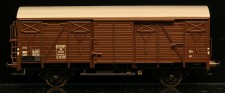 McK 0604 DSB gedeckter Güterwagen 2-achs Ep.3