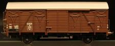 McK 0606 DSB gedeckter Güterwagen 2-achs Ep.3