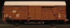 McK 0607 DSB gedeckter Güterwagen 2-achs Ep.4