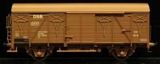 McK 0609 DSB gedeckter Güterwagen 2-achs Ep.4