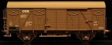 McK 0610 DSB gedeckter Güterwagen 2-achs Ep.4