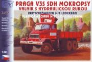 SDV model 130 Praga V3S Pritsche mit Kran FW
