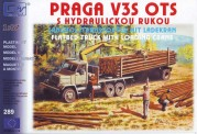 SDV model 289 Praga V3S Holztransporter
