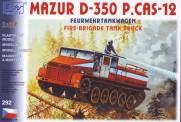 SDV model 292 Mazur D-350 Löschpanzer FW