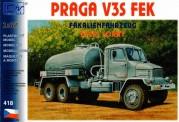 SDV model 418 Praga V3S Fäkalienfahrzeug