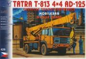 SDV model 429 Tatra T-813 Mobilkran AD125