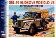 SDV model 446 Gaz 69 VB, Patrouillenfahrzeug