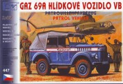 SDV model 447 GAZ 69A Hlidkova VB