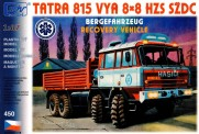 SDV model 450 Tatra 815 8x8 Bergefahrzeug