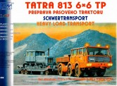 SDV model 458 Tatra 813 6×6 TP, P-20, DT-54