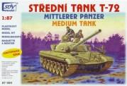 SDV model 87054 T-72 Kampfpanzer