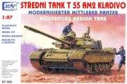 SDV model 87062 T-55AM2 Kampfpanzer Kladivo