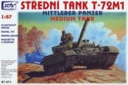 SDV model 87071 T-72M1 Kampfpanzer
