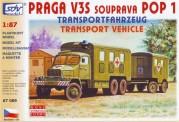 SDV model 87089 Praga V3S KHZ Militär
