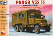 SDV model 87110 Praga V3S JS - Werkstattwagen