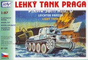 SDV model 87131 Praga Pz38 Ausf. D