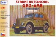 SDV model 87139 GAZ 69A Stabsfahrzeug