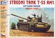 SDV model 87145 T-55AM1 Kampfpanzer