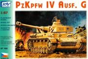 SDV model 87163 Kampfpanzer PzKpfw IV Ausf. G