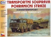 SDV model 87168 Panzertransport-Set 3-tlg